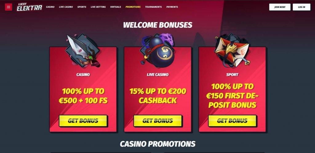 Lucky Elektra Casino arvostelu – uskomattomia bonuksia kaikille
